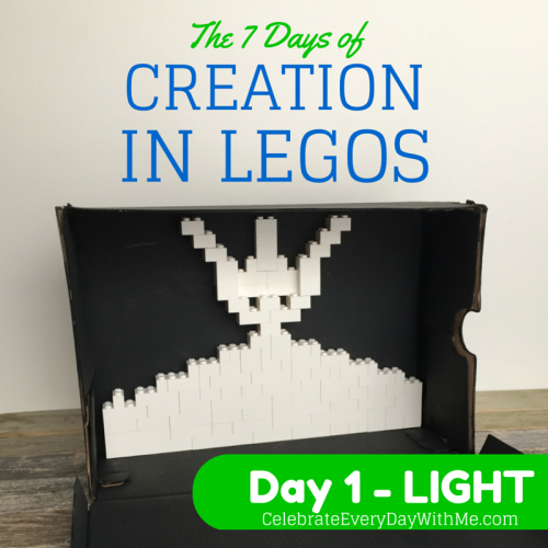 The 7 days of creation in LEGOS.. Day 1 - Light