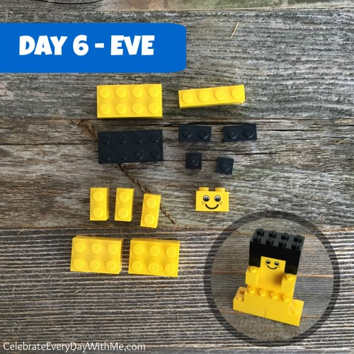 day 6 - eve in legos