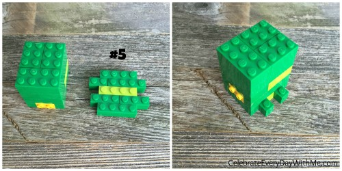 how to make a lego turtle 5