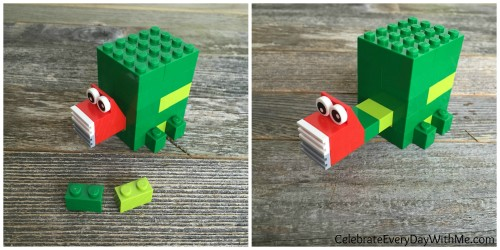 how to make a lego turtle 8