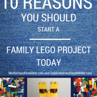 10 Reasons You Should Start a Family Lego Project Today