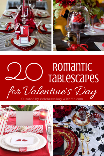 20 Romantic Tablescapes for Valentine's Day