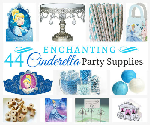 44 Enchanting Cinderella Party Supplies-