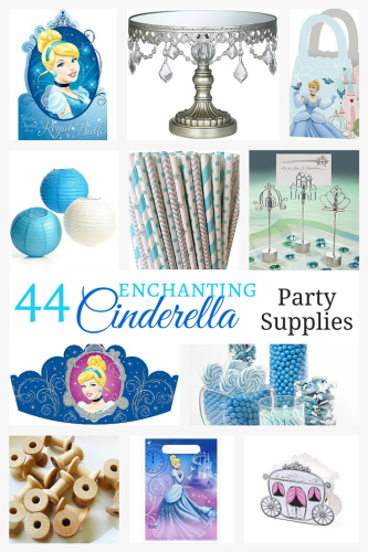 44 Enchanting Cinderella Party Supplies (1)