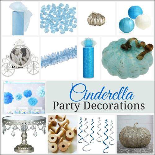 Cinderella Party Decor
