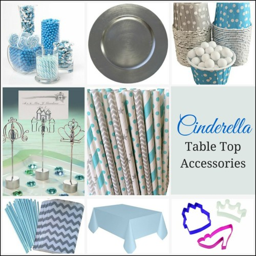 Cinderella Table Top Accessories