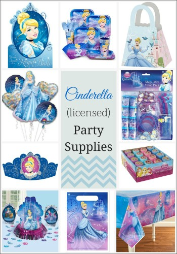 Cinderella (licensed) Party Supplies (1)