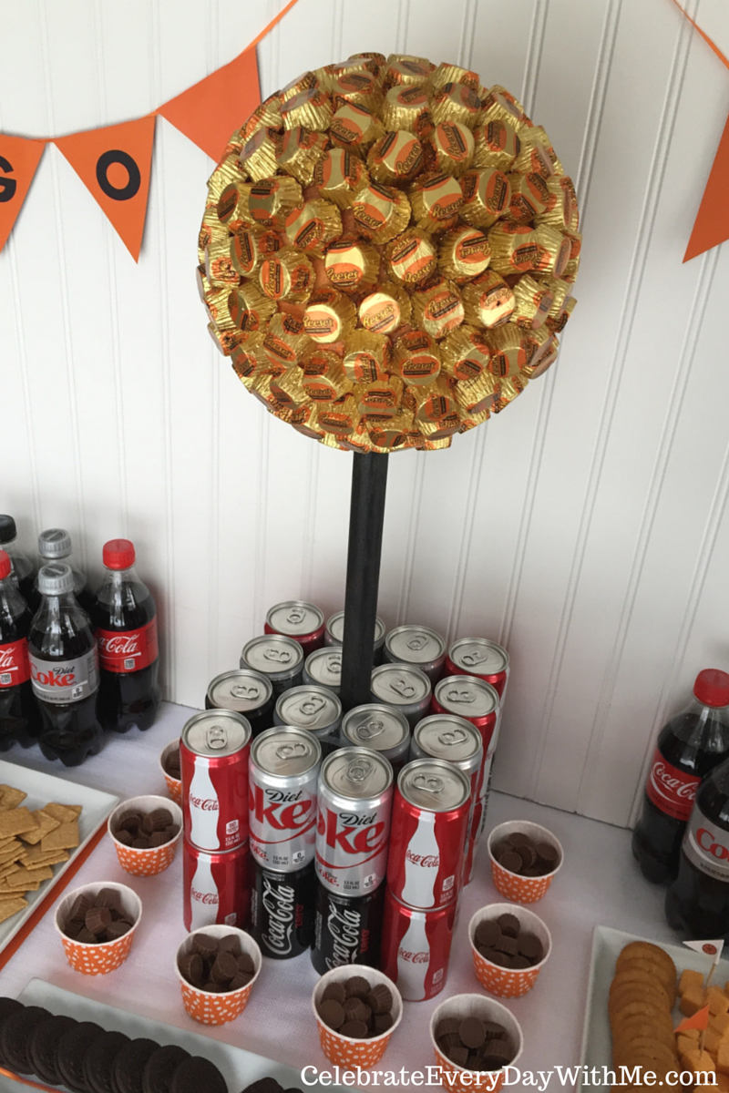 This edible trophy centerpiece will look great for your