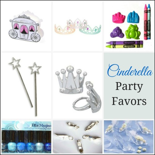 cinderella party favors