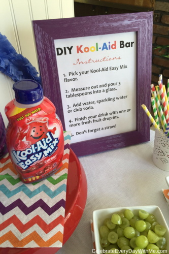 DIY Kool-Aid Easy Mix Bar 6