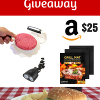 The Great Burger Giveaway with Yumms Burger Press & More!