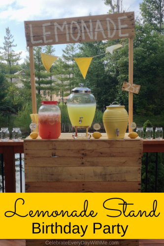 lemonade themed birthday party (1a)