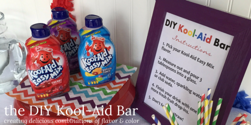 the DIY Kool-Aid Bar