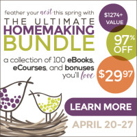 The Ultimate Homemaking Bundle – Buy it Now!
