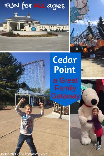 Cedar Point - a great family getaway
