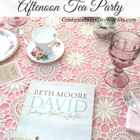 """A Heart Like His"" Tea Party"