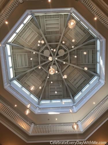 hotel breakers ceiling at cedar point