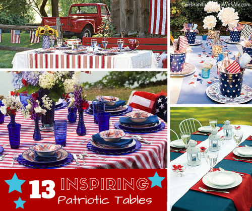 13 Inspiring Patriotic Tables -