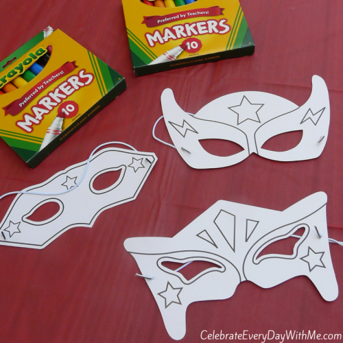 Today S Hint 7 Affordable Activity Ideas For First: Awesome Superhero Party Games