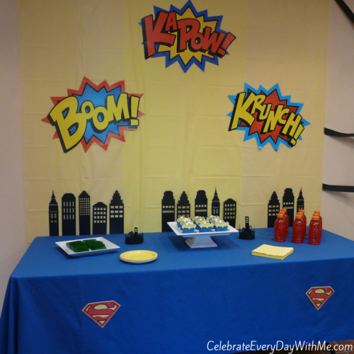 Super Hero Party 14