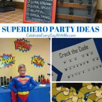 Our Superhero Party