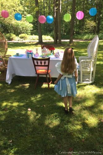 Alice in Wonderland Party 13