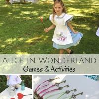 Alice in Wonderland Party Games, Activities & More