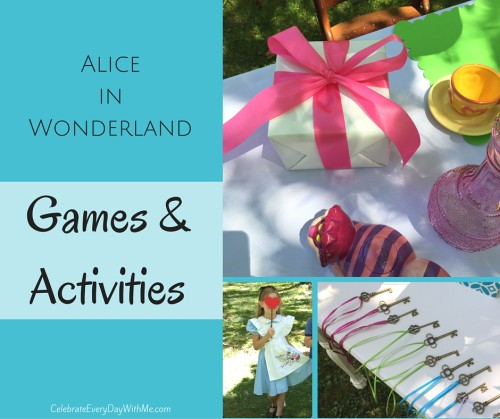 Alice in Wonderland Games & Activities (fb3)
