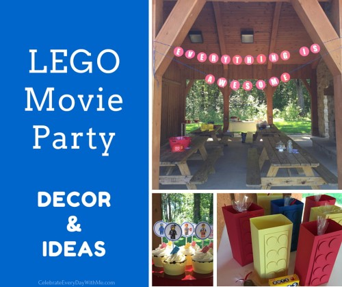 Lego Movie Party Decor & Ideas - FB