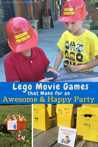 Lego Movie Games that Make for an Awesome & Happy Party