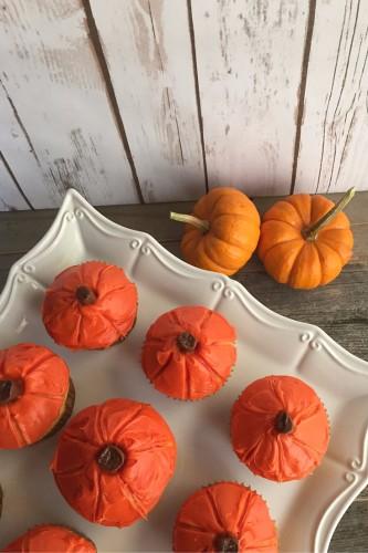 pumpkin cupcakes 7