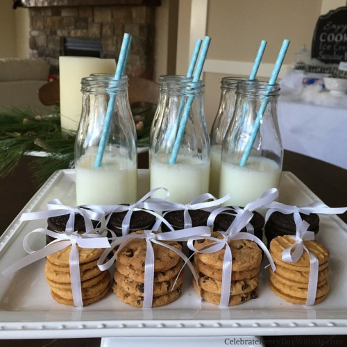 Winter Wonderland Party featuring a Cookie - Ice Cream Sundae Bar 5