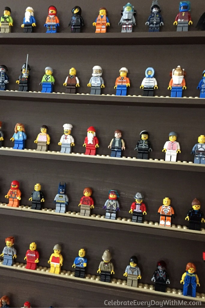 DIY Lego Mini-Figure Display - 3