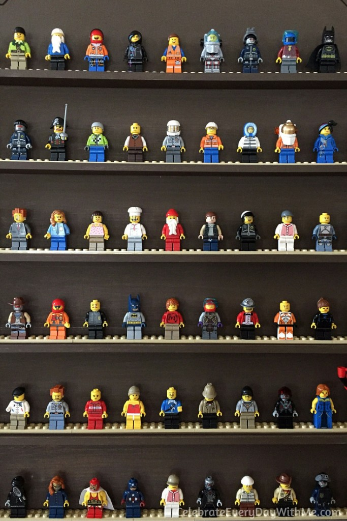 DIY Lego Mini-Figure Display - 4
