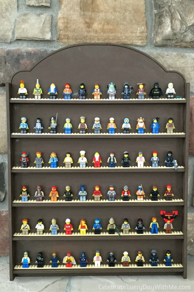 DIY Lego Mini-Figure Display - 5