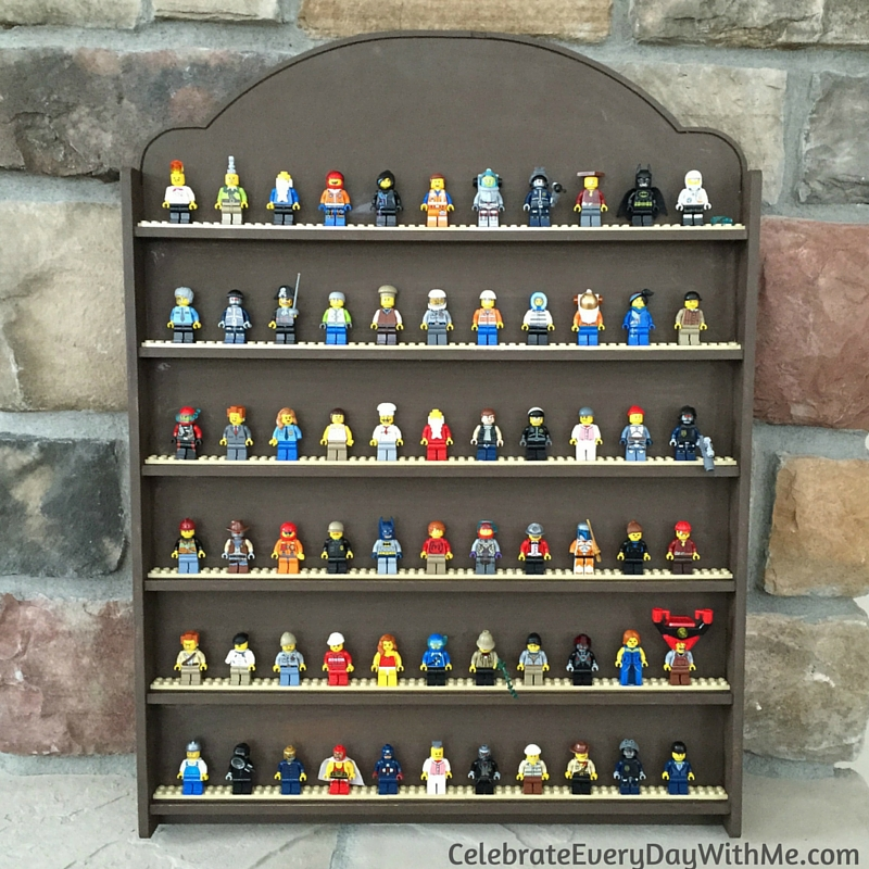 DIY Lego Mini-Figure Display - 6