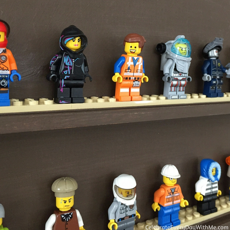DIY Lego Mini-Figure Display - 7