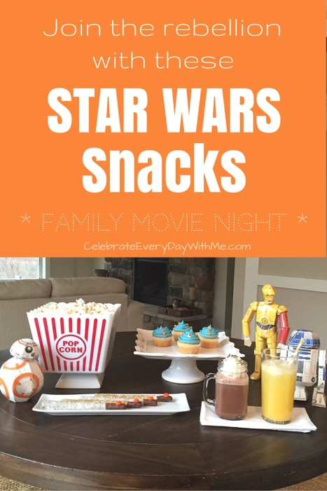 Join the Rebellion with these Star Wars Snacks