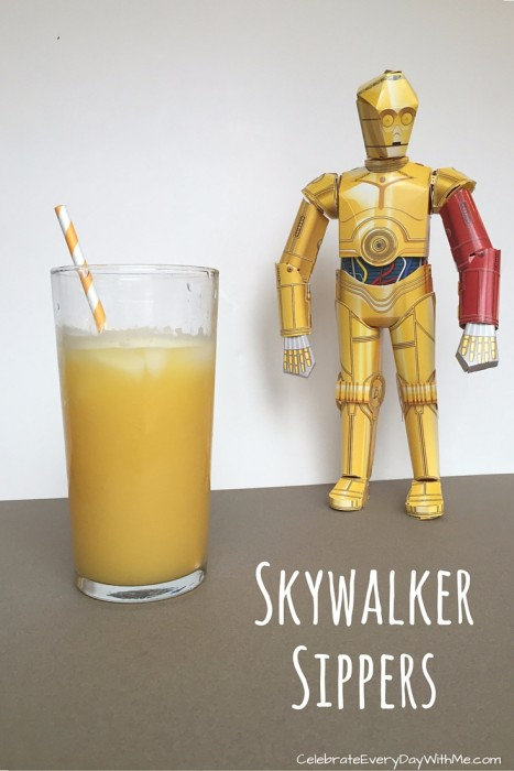 Skywalker Sippers - Star Wars Snacks
