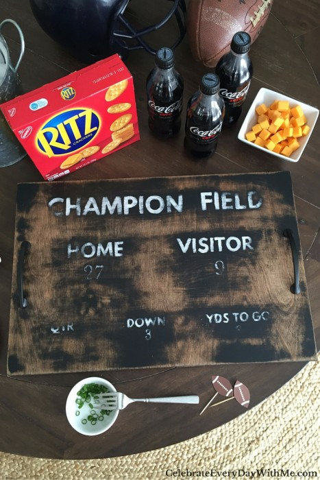how to make a serving tray that will score at your football party (51)