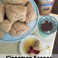 Yummy Cinnamon Scones and Nutchello for a Little Me-Time