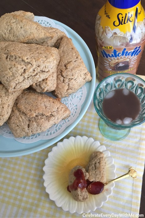 Cinnamon Scones and Nutchello for an afternoon treat (31)