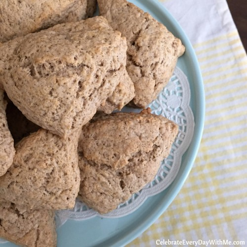 Cinnamon Scones and Nutchello - yummy afternoon treat (13)