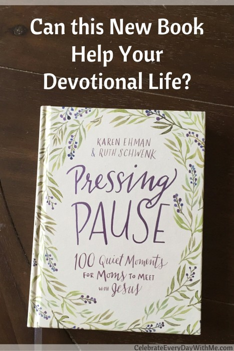 Can this New Book Help Your Devotional Life- - Pressing Pause Book Review