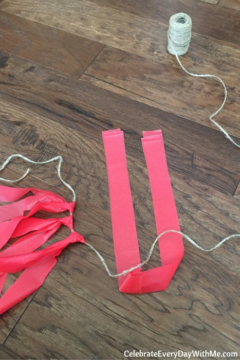 How to Make $2 Tassel Garland (7)