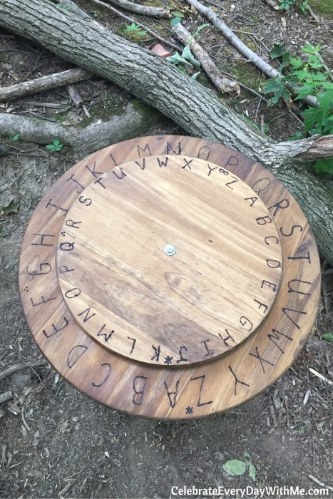 How to make a giant decoding disk (25)