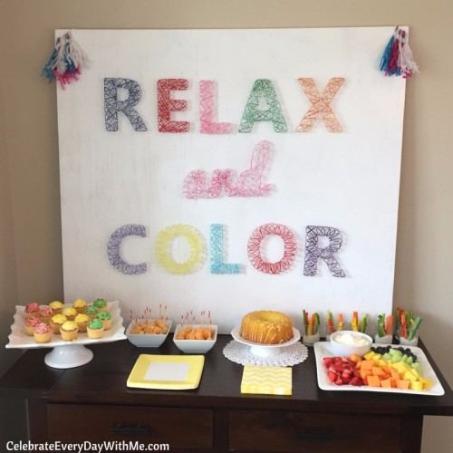 How to throw an AMAZING coloring party (13)