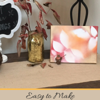 Easy to Make, Kid-Inspired Fall Decor
