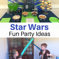 Galactic Star Wars Party Ideas:  Decor & Food