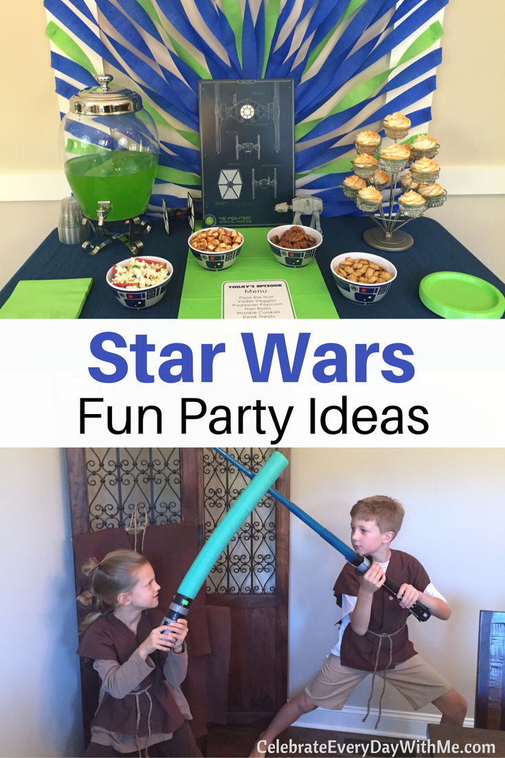 Galactic Star Wars Party Ideas Decor Amp Food Celebrate